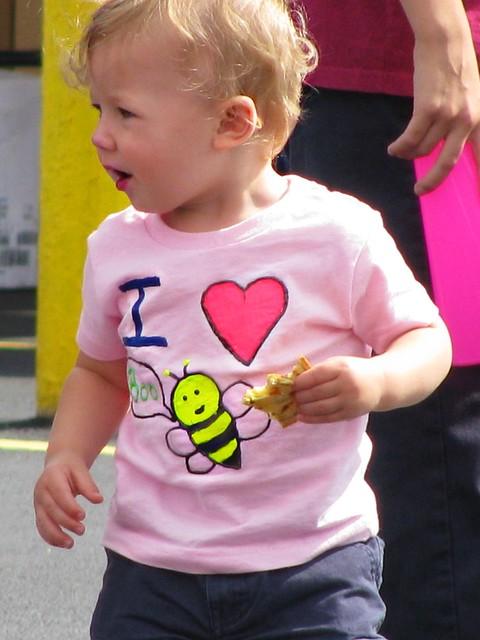 P2C I Love Boo Bees Shirt
