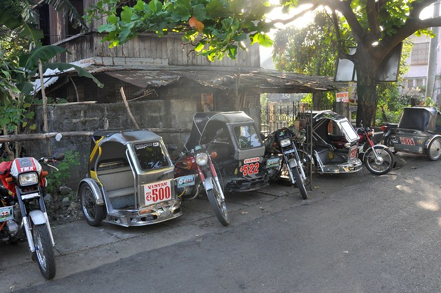 Tricycle stop