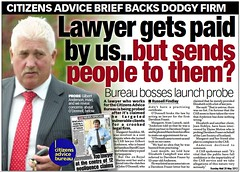 Gilbert Anderson lawyer gets paid by us refers to O'Donnell Sunday Mail 20 May 2012