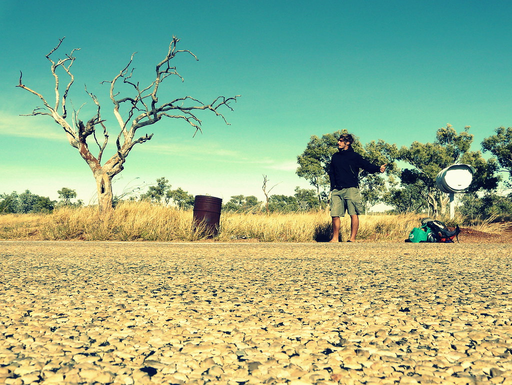 Hitch-hiking in Australia - by Michel Pretzsch