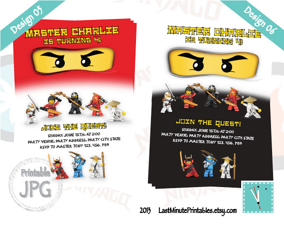 USD 6.99, Ninjago invitation, ninjago eye, ninjago invite, ninja invitation, lego invitation, ninjago, lego, lego printable, ninjago birthday, ninja