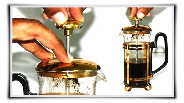 Perfect Kopi Luwak Coffee with French Press, pres french press