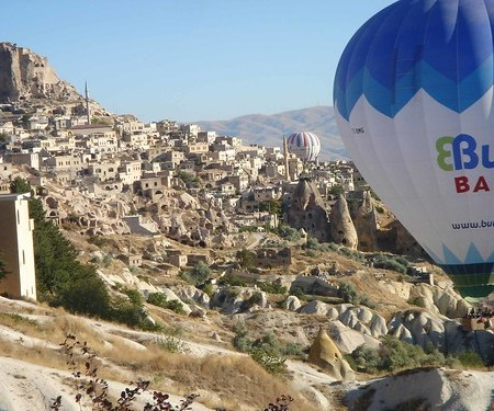 Cappadocia and hot-air balloons