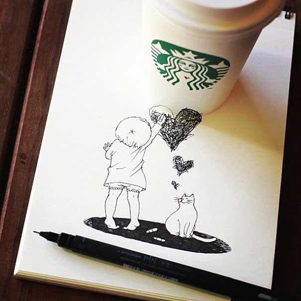 starbucks-cups-3d-drawings-tomoko-shintani-8