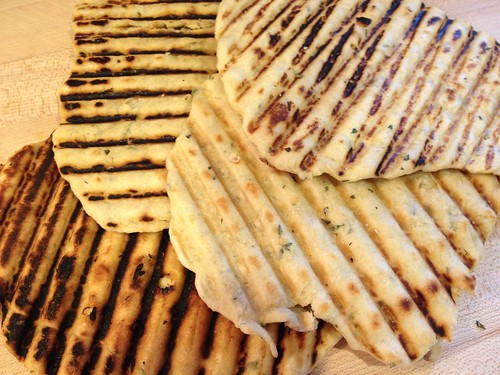 herbed flatbread