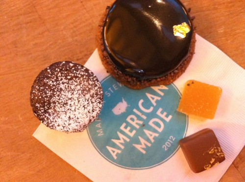Sample treats from Bouchon