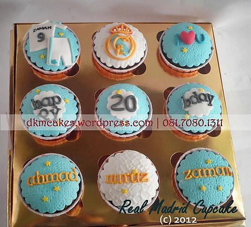 DKMCakes, kue ulang tahun jember, pesan blackforest jember, pesan cake jember, pesan cupcake jember, real madrid cupcake