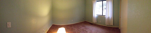 Painted Guest Room