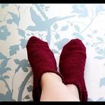 My first pair of hand knitted socks! #knitting #first #socks #lovelywallpaper