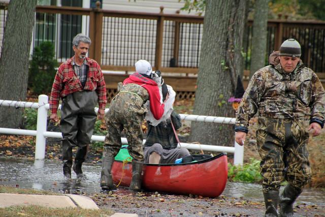 Mantoloking Rd. Rescue, Hurricane Sandy