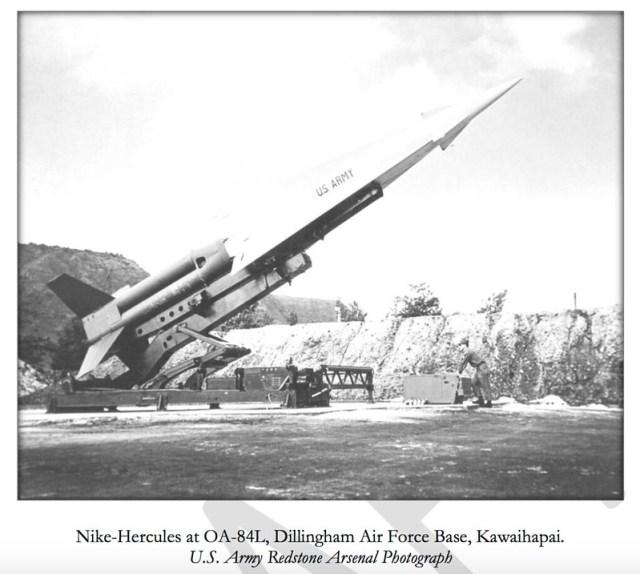 Nike Missile at OA-84, Oahu