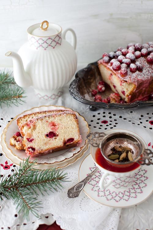 Lemon Cranbbery Cake 4