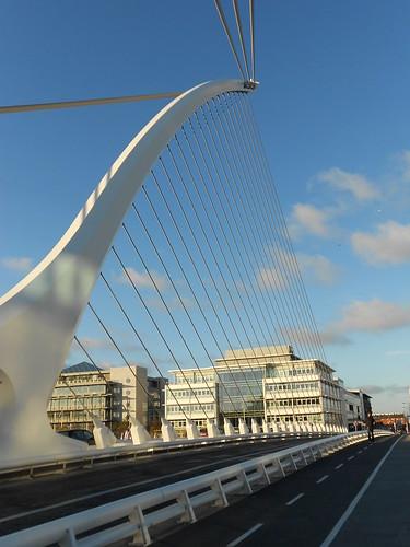 The 'harp' bridge