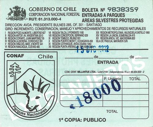 Entrance-permit