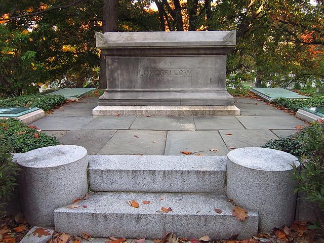 Henry Wadsworth Longfellow's Grave