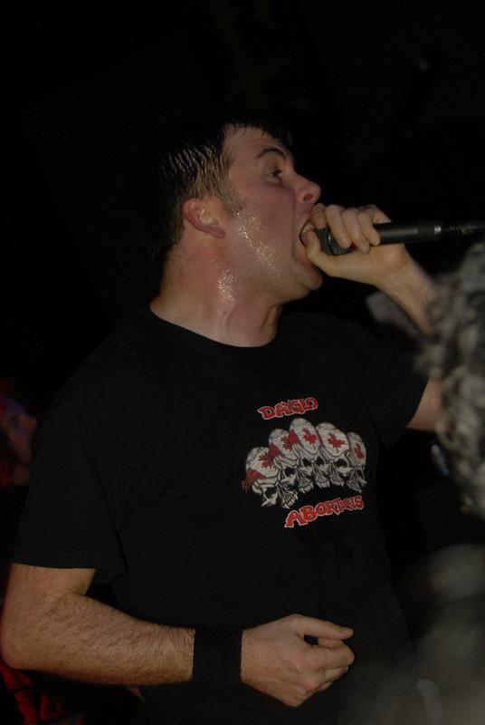 Barney Greenway of Napalm Death