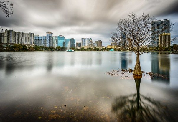 Lake Eola - Orlando, Florida