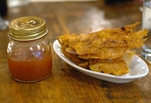 Chicken Cracklins And Hot Pepper Vinegar