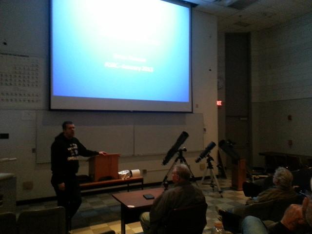 Astro 101 (topic: telescope mounts) Jan 2013