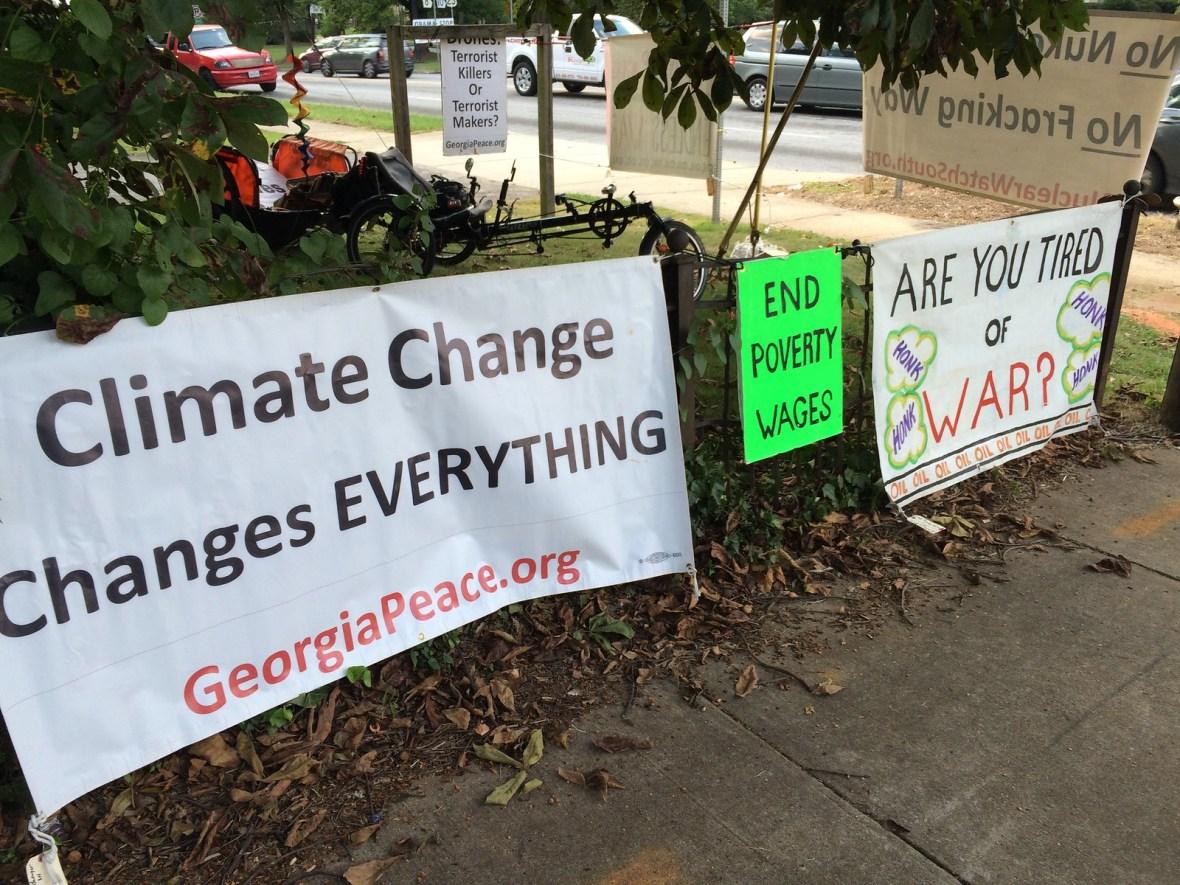 Atlanta,GA Peace Vigil -CNV 2016 (1)