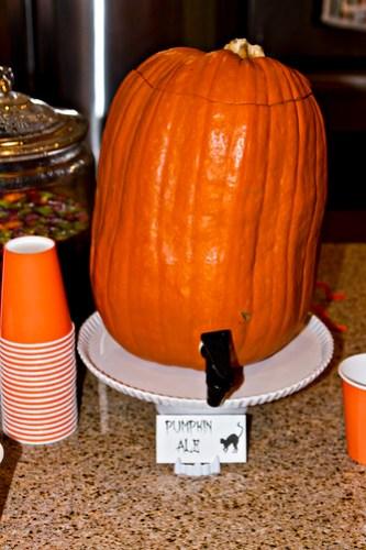 pumpkin keg