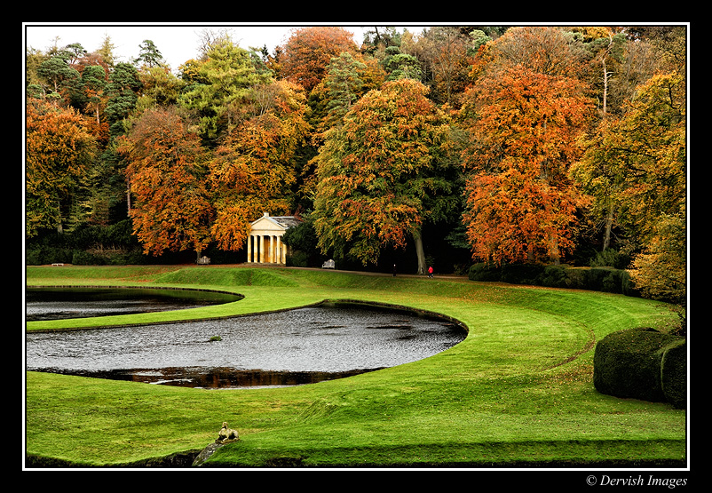 Autum Colours - Fountains Abbey