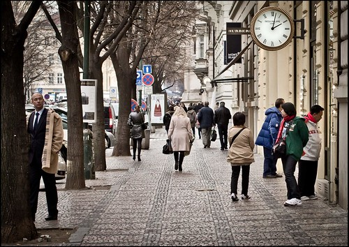 Prag / Passanten / pedestrian