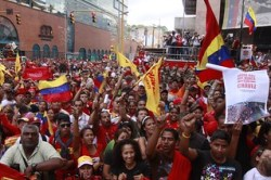 Pueblo Pa' la Asamblea. January 5 Rally Photo: TeleSurTV