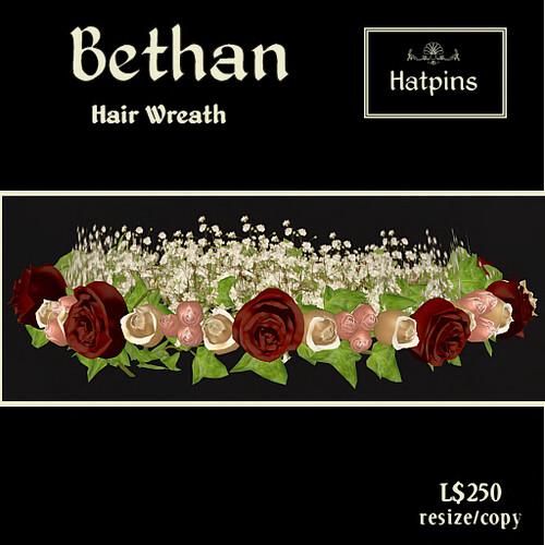 Hatpins - Bethan Wreath - Antique Roses - copy_mod