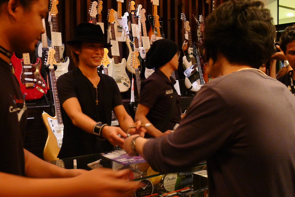 Inoran Meet & Greet in Bangkok 2013