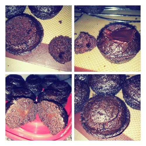 Triple Whiskey Chocolate Cupcakes
