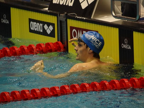 Yannick Agnel at the Berlin 2012 World Cup meet
