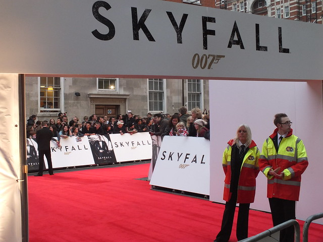 James Bond Premier-Skyfall at The Royal Albert Hall
