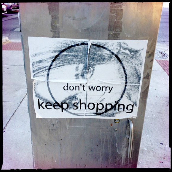 Don't Worry - Keep Shopping