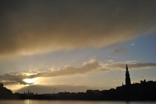 Edinburgh - Sunset