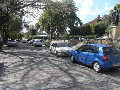 Peatonalización a la cordobesa en la Puerta Almodovar.
