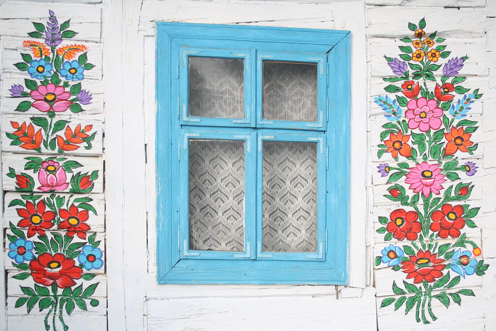 Painted house, Zalipie