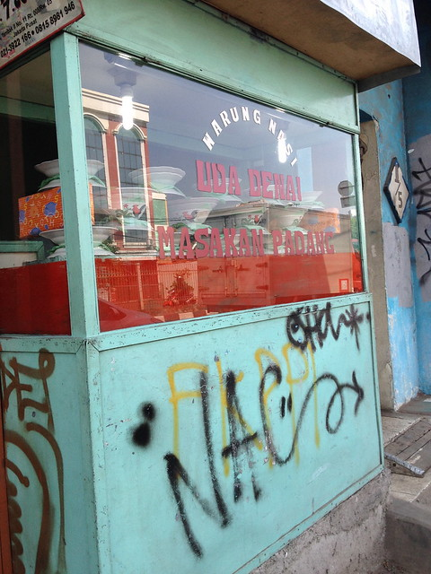 """This is, """"a hole in the wall""""- type restaurant. A step away from the main road Jalan Tambak."""