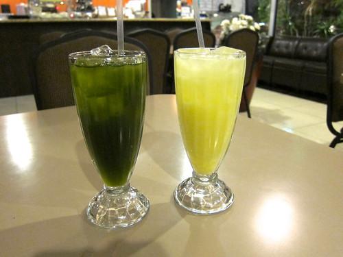 Pennywort Juice | Jackfruit Juice