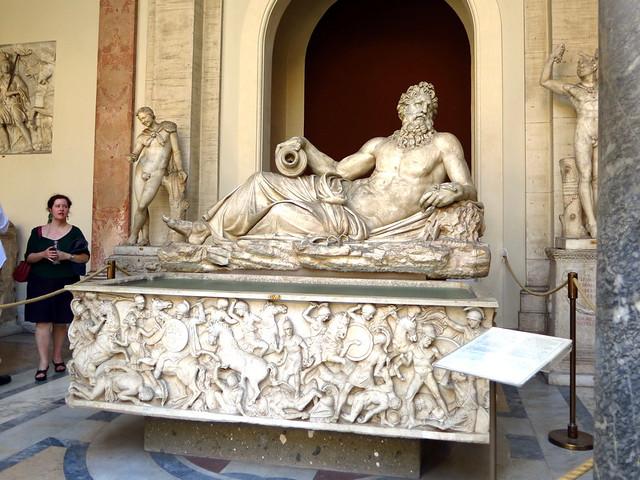 Vatican Museum- Tigris or Arno Statue