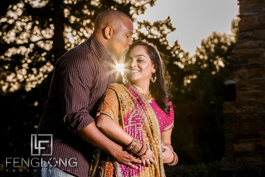 Janella & Chuck's Engagement Session   Three Chimneys Farm   Atlanta Indian Multicultural Wedding Photographer