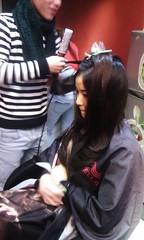 Thực hành sấy tóc lá bám cúp Hair salon Korigami 0915804875 (www.korigami (4)
