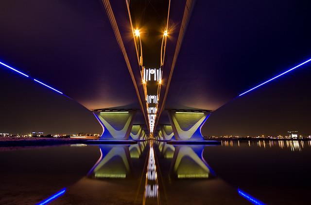 Al Garhoud bridge,Dubai