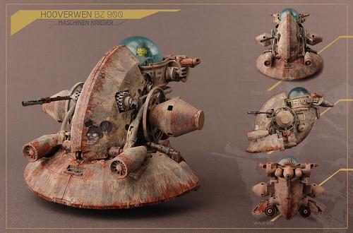 Hooverwen BZ 900 / Maschinen Krieger