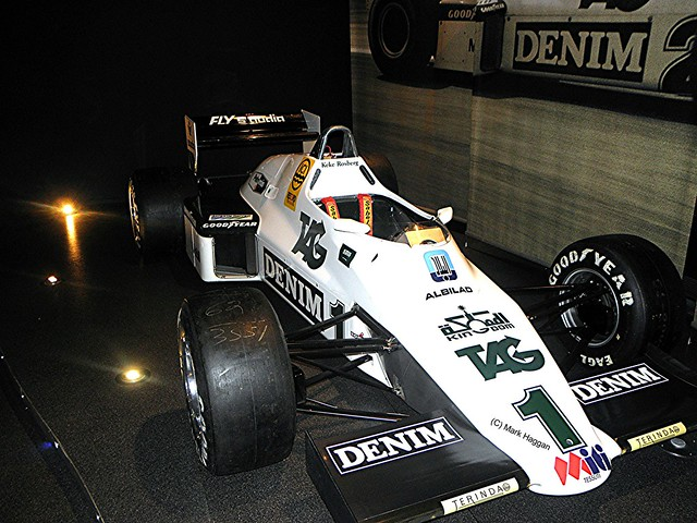 Keke Rosberg's 1983 FW08C from 1983 at the Williams Museum