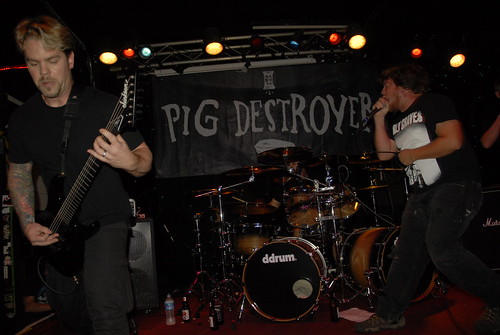 Pig Destroyer at the Ottobar