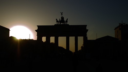 Brandenburger Tor at Sunset by GeordieCy