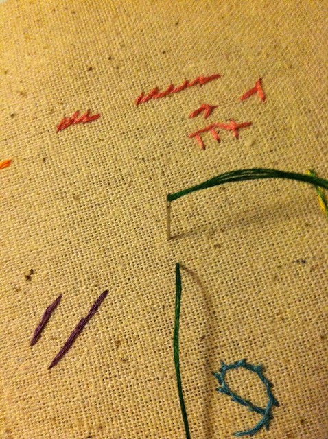 sheaf stitch 1