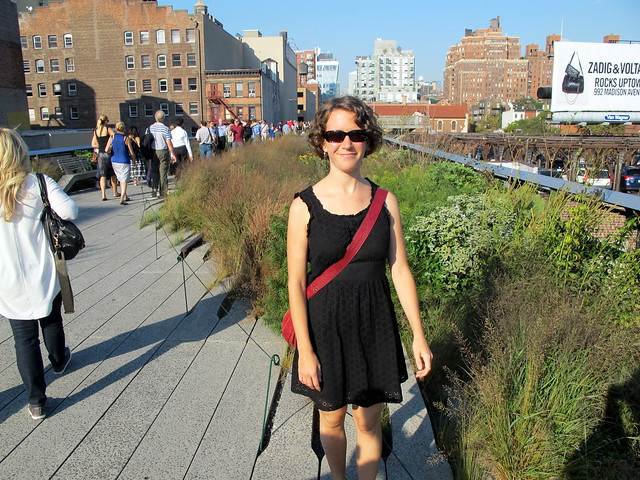 Walking the High Line