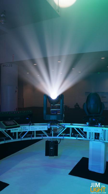 Philips Entertainment at LDI 2012 -- VL1000 rocking